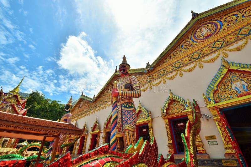 Wat Chayamangkalaram , Penang, Malaysia. royalty free stock photo