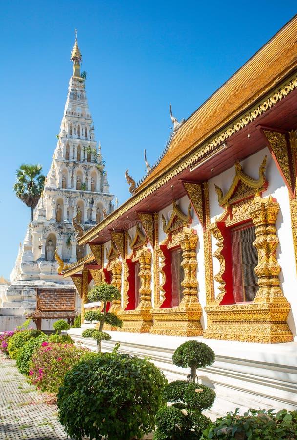 Wat Chedi Liam ή Wat Ku Kham στοκ φωτογραφία με δικαίωμα ελεύθερης χρήσης