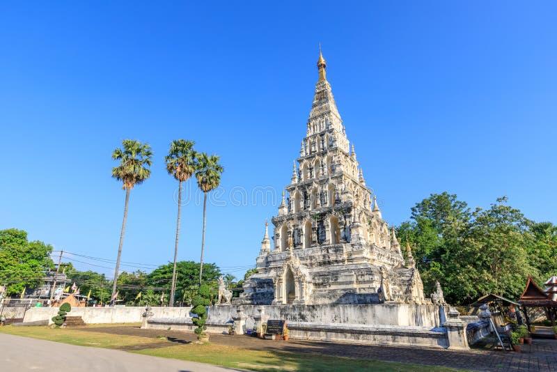 Wat Chedi Liam Ku Kham oder Tempel der quadratischen Pagode in der alten Stadt von Wiang Kum Kam, Chiang Mai, Thailand lizenzfreies stockbild