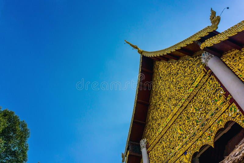 Wat Chedi Luang Чиангмай, Таиланд стоковые фото