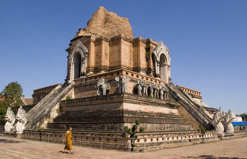 Wat Chedi Luang foto de stock royalty free