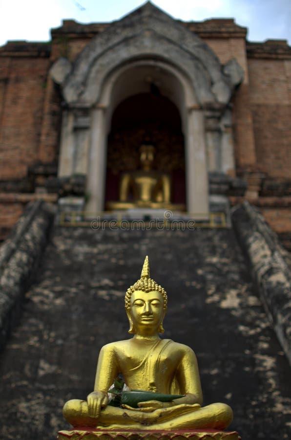 Wat Chedi Luang photographie stock libre de droits