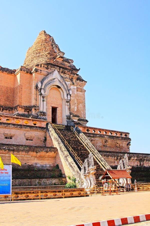 Wat Chedi Luang, Chiang Mai, Tailândia fotos de stock
