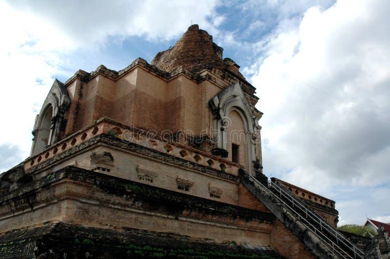 Wat Chedi Luang stockfotos