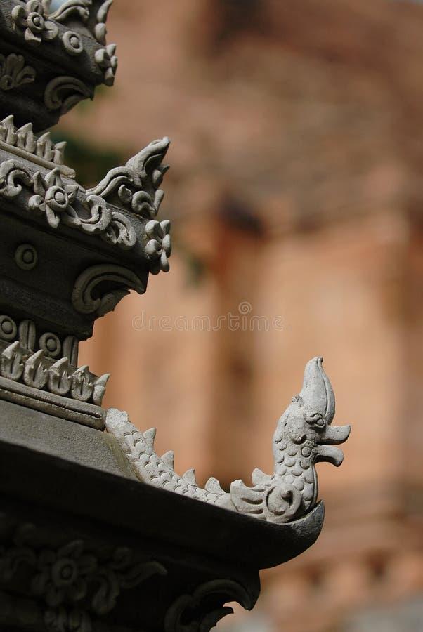 Wat Chedi Luang lizenzfreie stockbilder