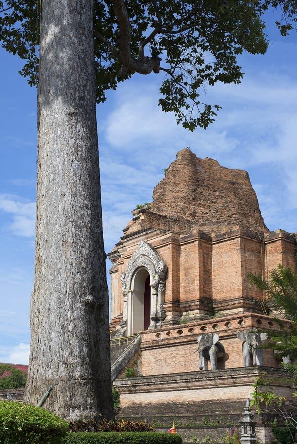 Download Wat Chedi Luang  pagoda stock image. Image of pagoda - 33717193