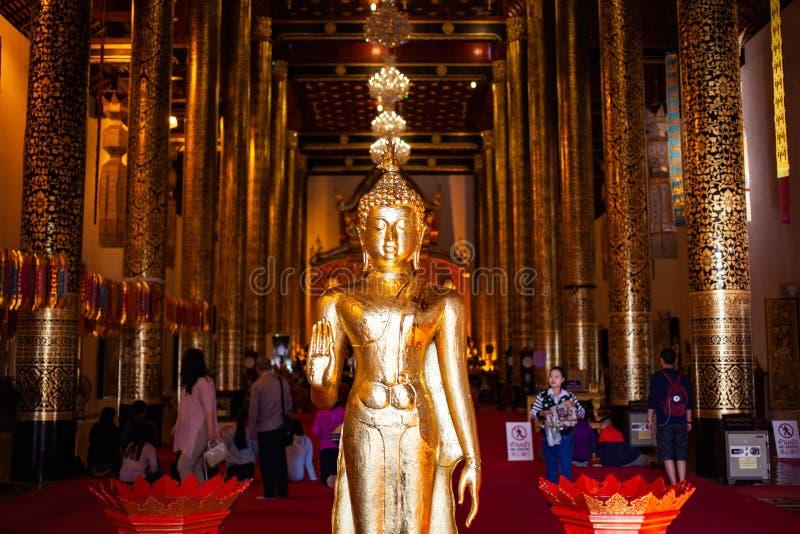 Wat Chedi Luang Varavihara, Chiang Mai, Thailand lizenzfreie stockbilder