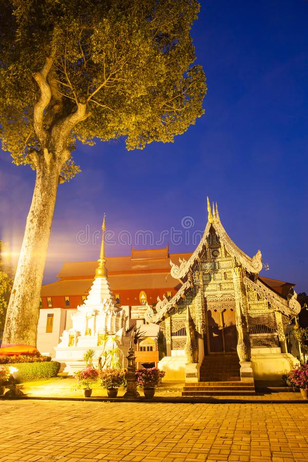 Wat Chedi Luang Varavihara, Chiang Mai, Thailand stockbilder