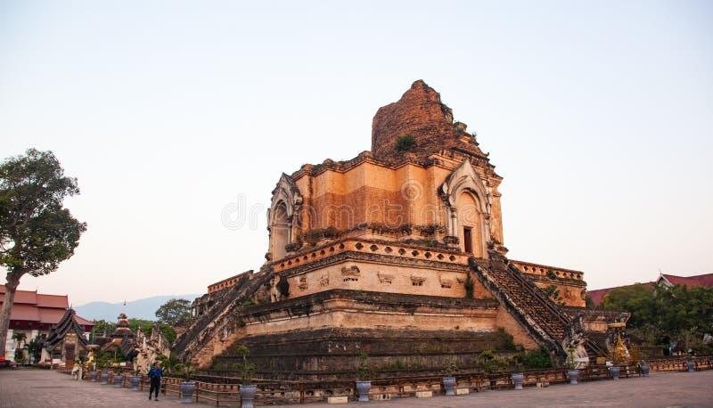 Wat Chedi Luang Varavihara, Chiang Mai, Thailand stockfoto