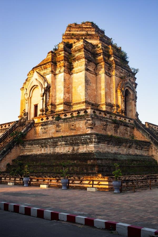 Wat Chedi Luang Varavihara, Chiang Mai, Thailand lizenzfreies stockbild