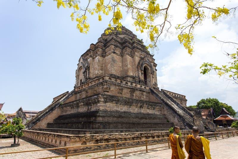 Wat Chedi Luang Worawihan royalty-vrije stock fotografie