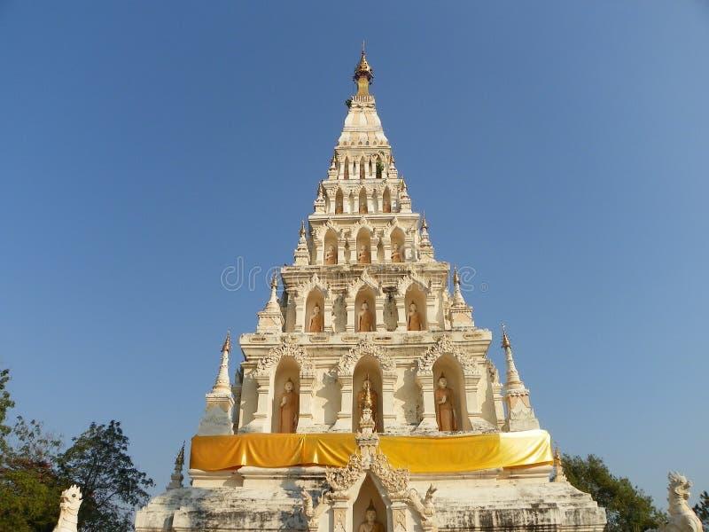 Wat chediliam寺庙 免版税图库摄影
