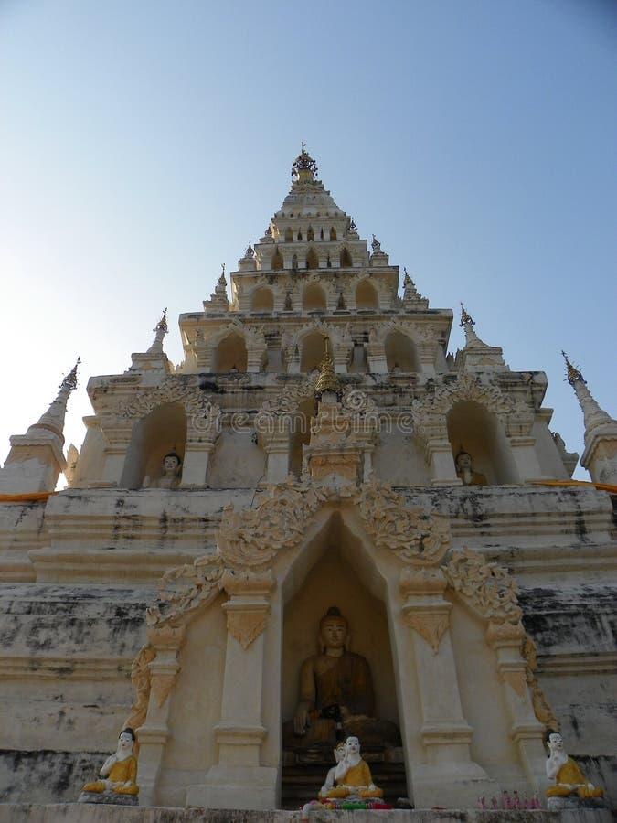 Wat chediliam寺庙 库存照片