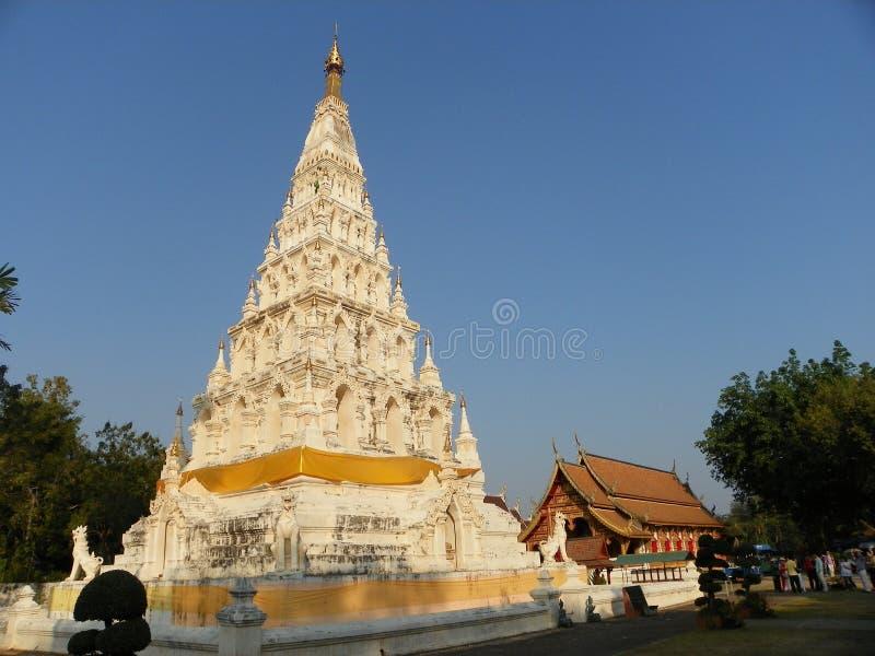 Wat chediliamtempel arkivfoton