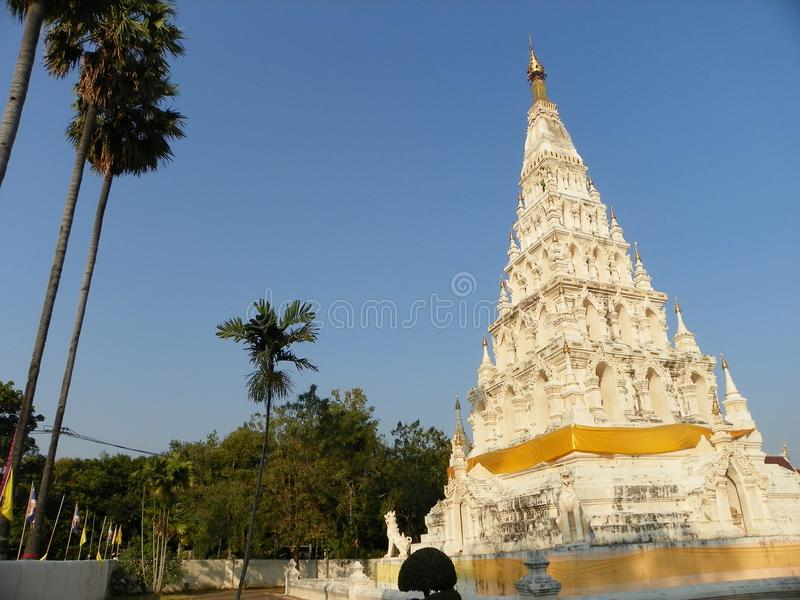 Wat chediliamtempel arkivbild