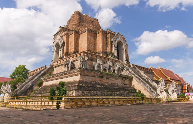 Wat Chediluang Thailand stockbilder