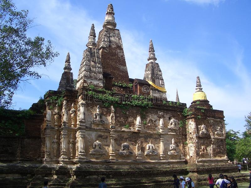 Wat Chet Yot Chiang Mai imagem de stock royalty free