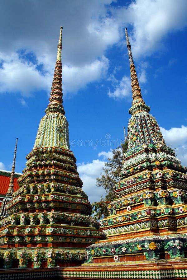 Wat Chetuphon a Bangkok immagine stock