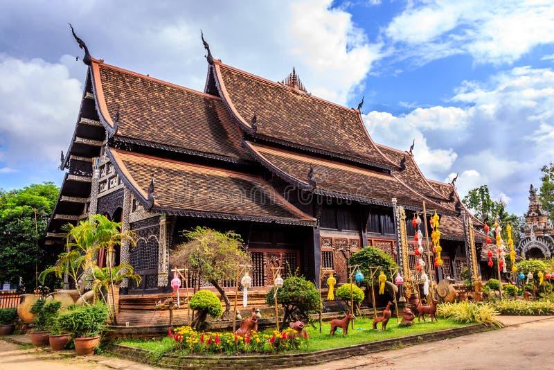 Wat chez Chiang Mai images libres de droits