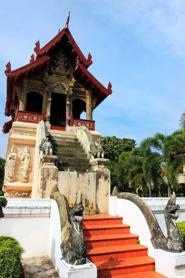 Wat Chiang Man buddhist temple, Chiang Mai Thailand royalty free stock photography