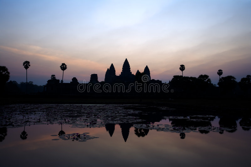 wat d'angkor photographie stock libre de droits