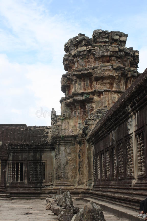 Wat de Angkor fotografia de stock royalty free