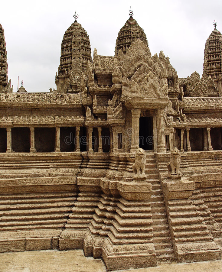 Wat de Angkor foto de stock royalty free