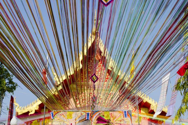 Wat della chiesa tailandese fotografie stock libere da diritti