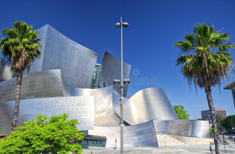Wat Disney Concert Hall royalty free stock image