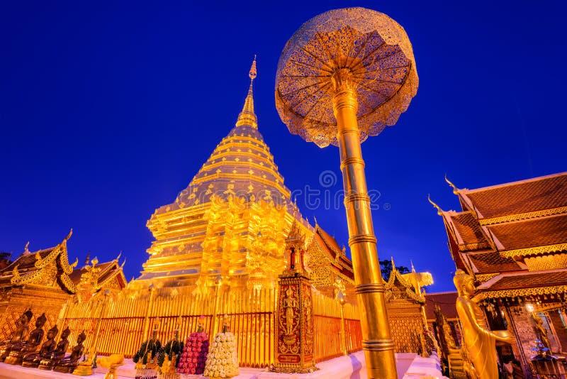 Wat Doi Suthep в Чиангмае стоковые фото