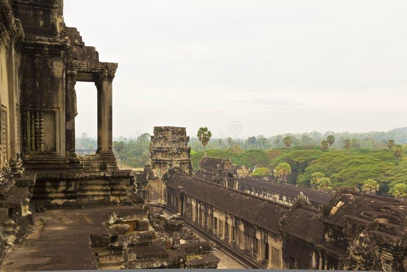 wat för angkorcambodia sikt royaltyfri foto