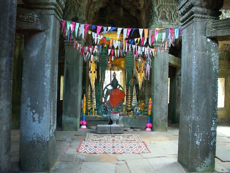 Download Wat För Angkorcambodia Tempel Fotografering för Bildbyråer - Bild av skörda, southeast: 987915