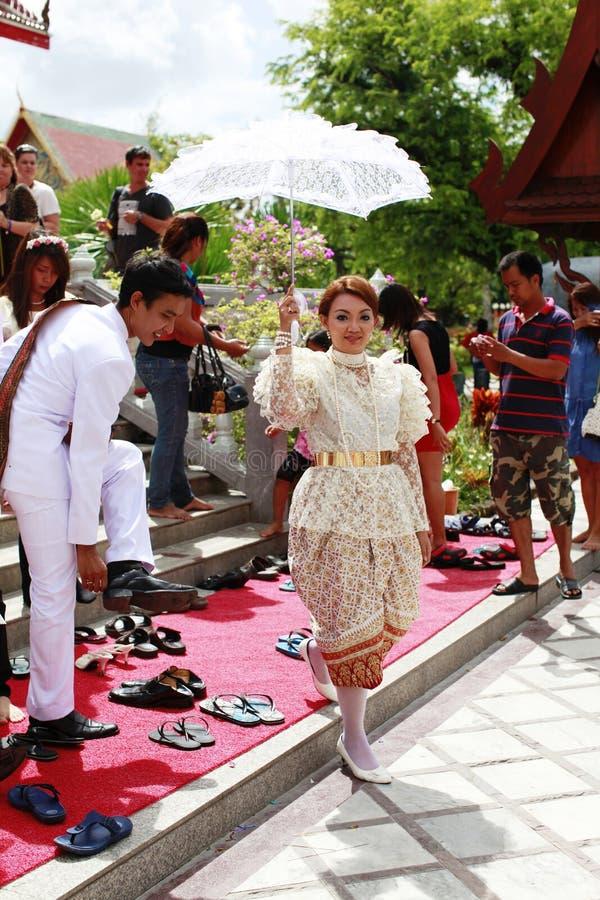 wat groom chalong невесты стоковые изображения