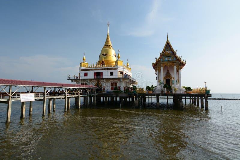 Wat Hong Thong. Bang Pakong district. Chachoengsao. Thailand royalty free stock images