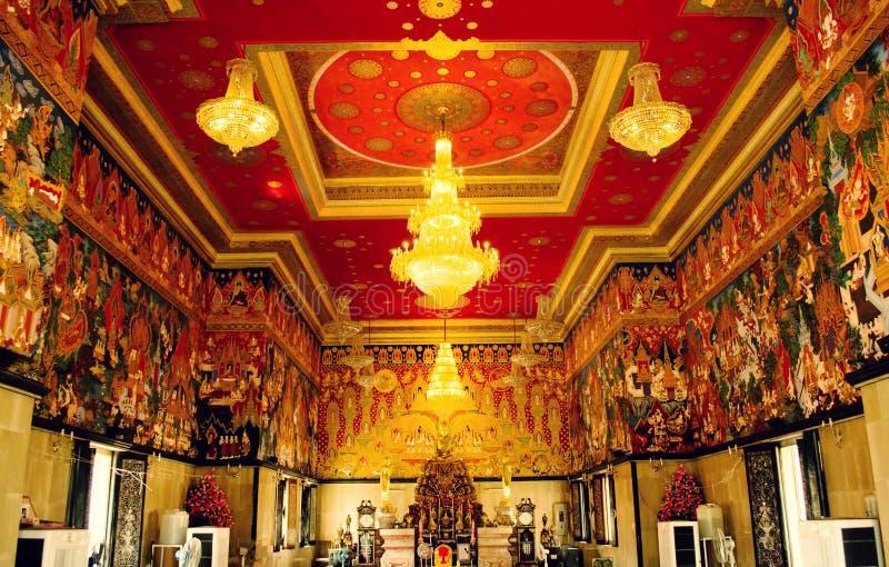 Wat Hua Lamphong stock afbeelding
