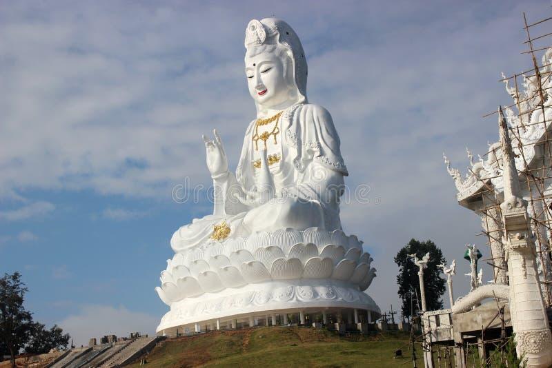 Wat Huai Pla Kang stockbild
