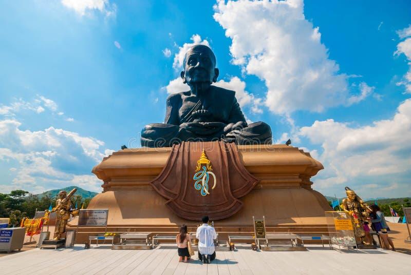 Wat Huay Mongkol, Prachuap Khiri Khan Province fotografia de stock royalty free