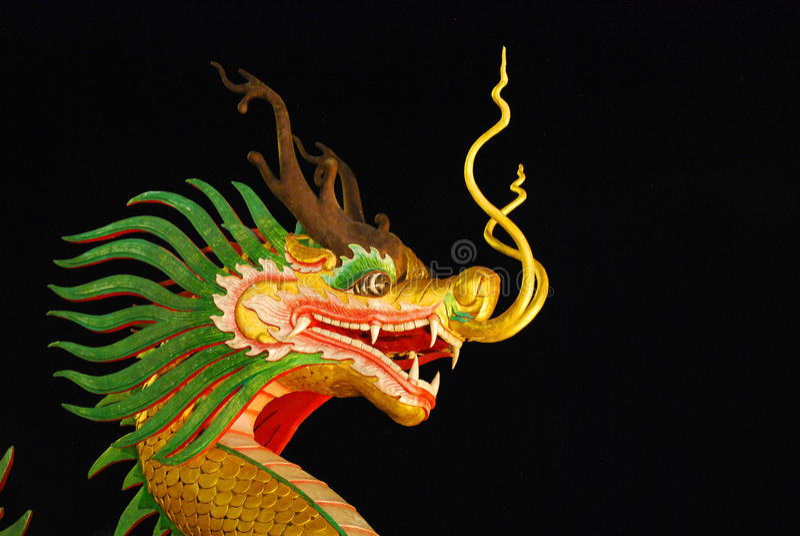 Wat Huay Pla Kang royalty-vrije stock afbeelding