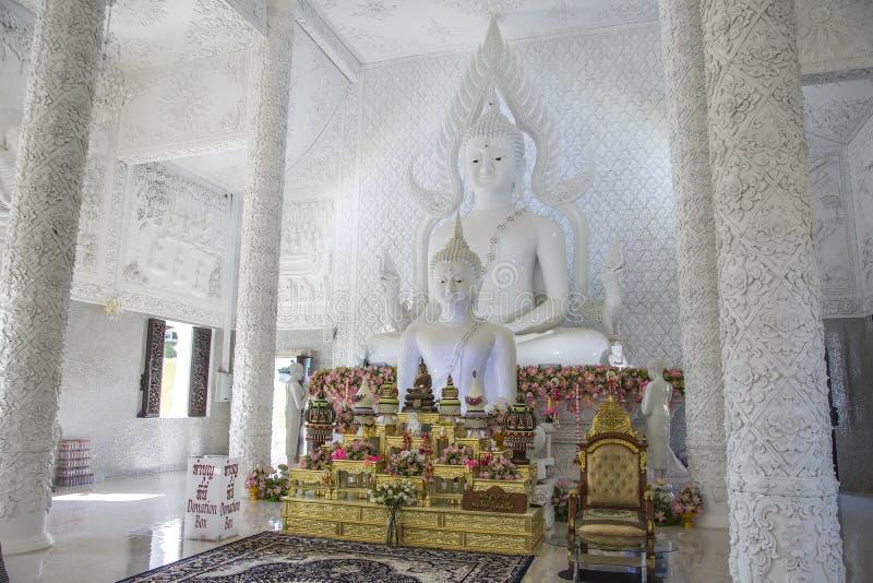 Wat Huay Pla Kang, Chiang Rai, Tail?ndia fotografia de stock royalty free
