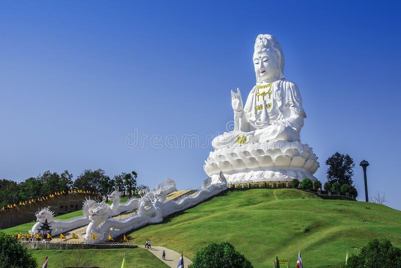Wat Huay Pla Kang, Chiang Rai, Tha?lande images libres de droits