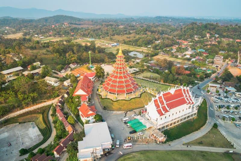 Wat Hyua Pla Kang Chinese temple stock photography