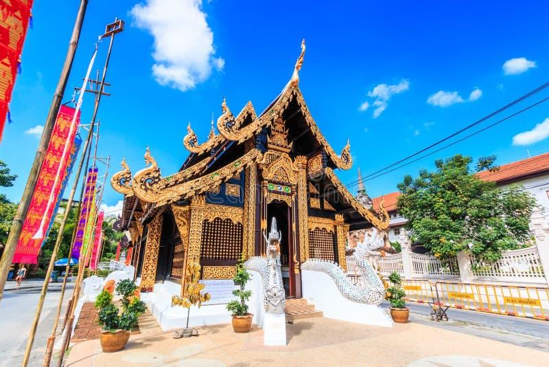 Wat Inthakhin Saduemuang en Tailandia imagen de archivo libre de regalías