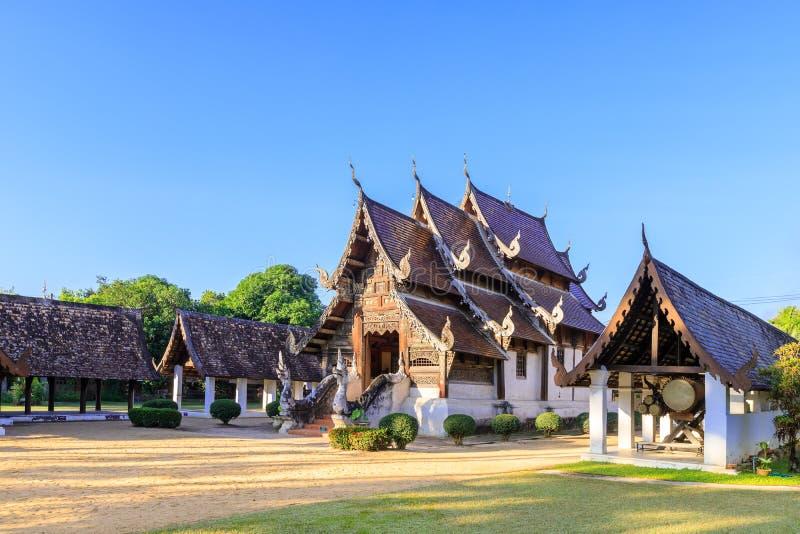 Wat Intharawat of Ton Kwen Temple in Chiang Mai, het Noorden van Thailand royalty-vrije stock afbeeldingen