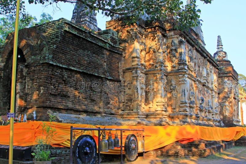 Wat Jed Yod, Chiang Mai, Ταϊλάνδη στοκ εικόνες
