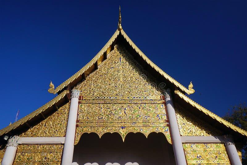Wat Jedi Luang Chiangmai Thailand image stock