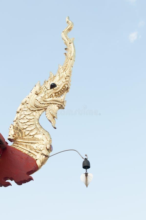 Wat JomJor Chiang Rai, Thailand arkivbild