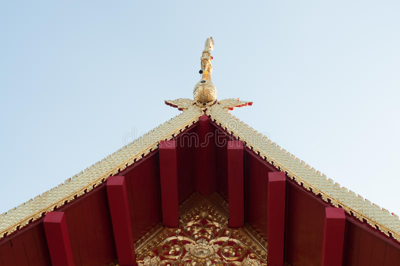 Wat JomJor Chiang Rai, Thailand arkivbilder