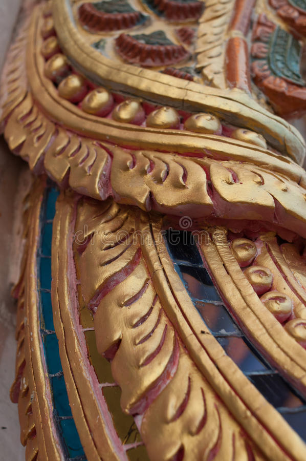 Wat JomJor Chiang Rai, Thailand arkivfoto