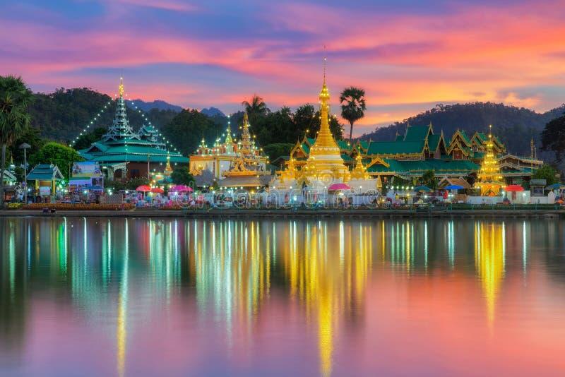 Wat Jongklang imagen de archivo libre de regalías