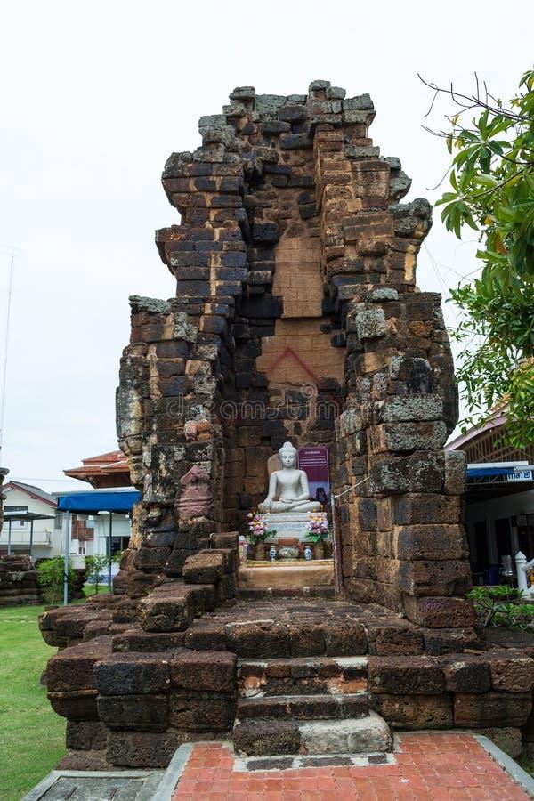 Wat Kamphaeng Lang в Таиланде стоковые изображения rf